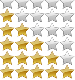 Stars With HTML CSS